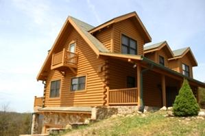 Log Home Repair | Log Home Log Replacement